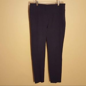 WHBM blue skinny stretchy pant leggings size 8